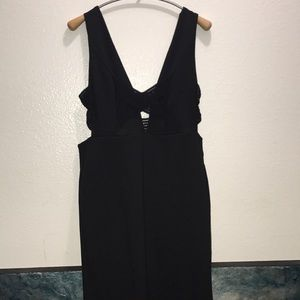 TOPSHOP BLACK DRESS